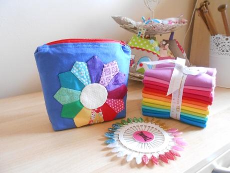 Rainbow pouch 1