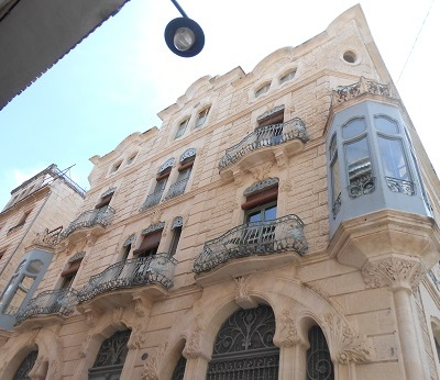 Spain Alcoy 7 buildings