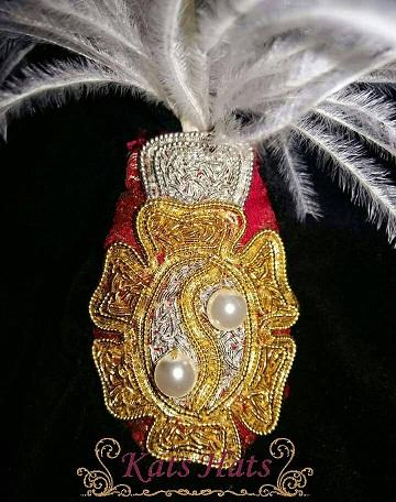 Ashby - Detail of goldwork