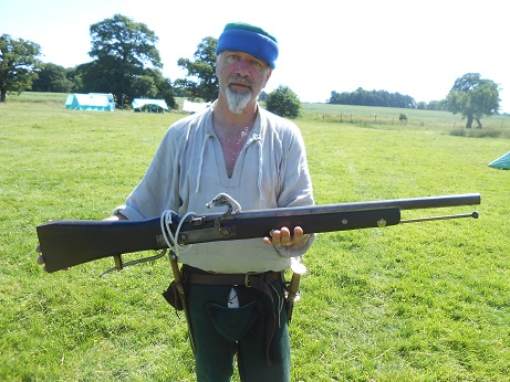 Tatton - Mike with gun 1