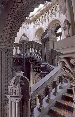 Penrhyn Castle staircase