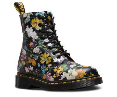 Doc Martens - flowers