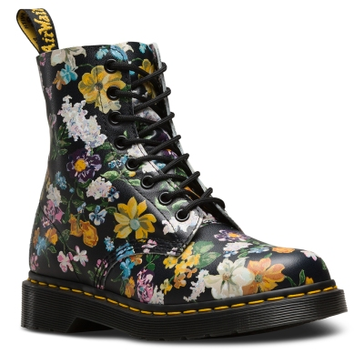 Doc Martens - flowers