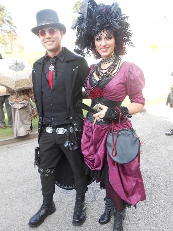 Steampunk costumes 1