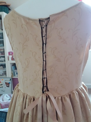 Steampunk Ellie original dress 2