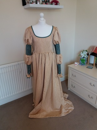 Steampunk Ellie original dress