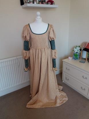 Steampunk Ellie original dress