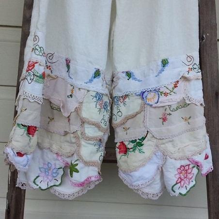 Tablecloth garment 4