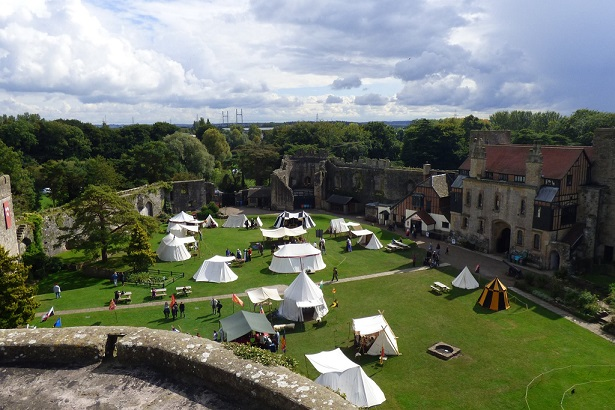 Caldicot castle camp 2017