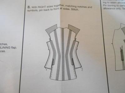 Steampunk linen jacket 1