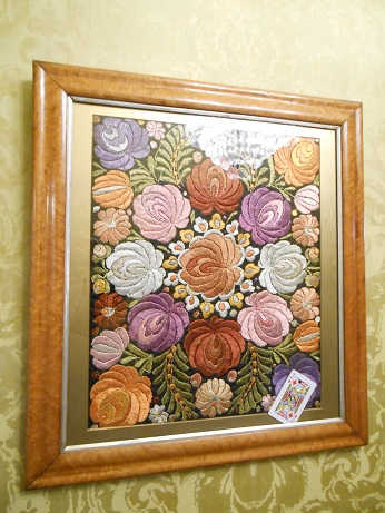 Clumber embroidery 1
