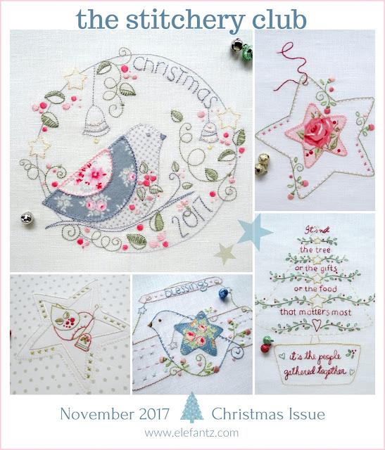 ELEFANTZ Christmas stitching