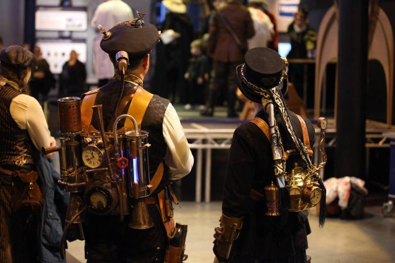 Steampunks in Space 12