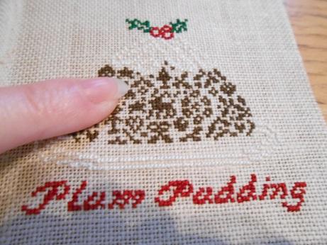 Plum Pudding Cross Stitch 3
