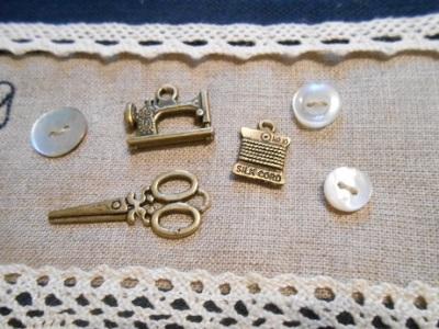 Stitching stuff bag WIP 3