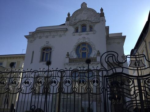 Budapest Art Deco House