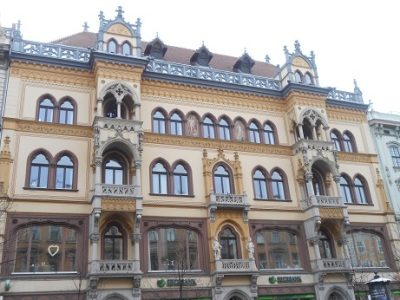 Budapest Buildings 1