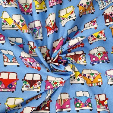VW van fabric