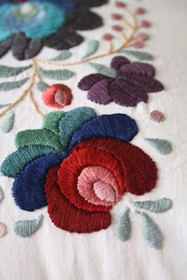 Hungarian embroidery 1