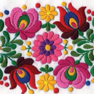 Hungarian embroidery 4