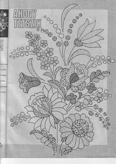 Hungarian motif 1