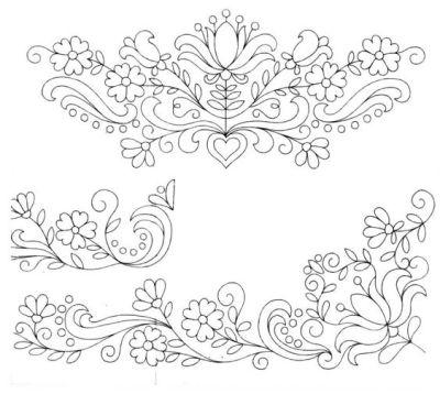 Hungarian motif 2