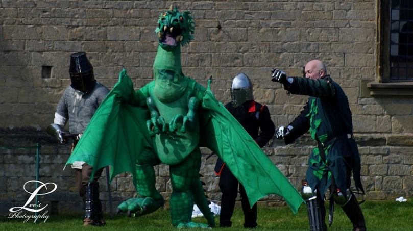 Dragon at Bolsover