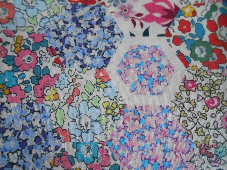 Liberty hexagon fabric 1