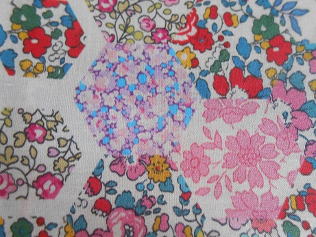 Liberty hexagon fabric 2