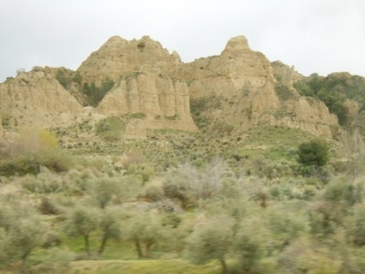 Seville Trip Cave House - landscape