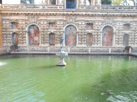 Seville Alcazar gardens 1