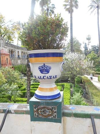 Seville Alcazar gardens 2