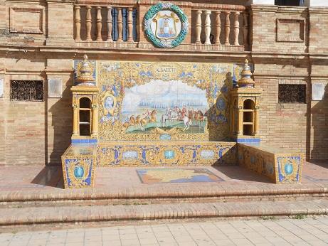 Plaza de Espana cities 1 h