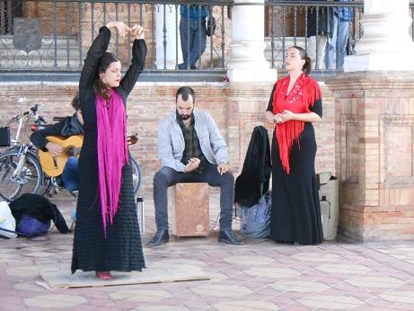 Plaza de Espana Flamenco