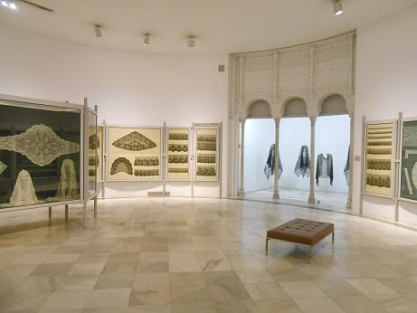 Seville Bordado - lace display