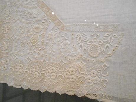 Seville Bordado - whitework 3 - unfinished