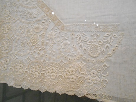 Seville Bordado - whitework 3 - unfinished