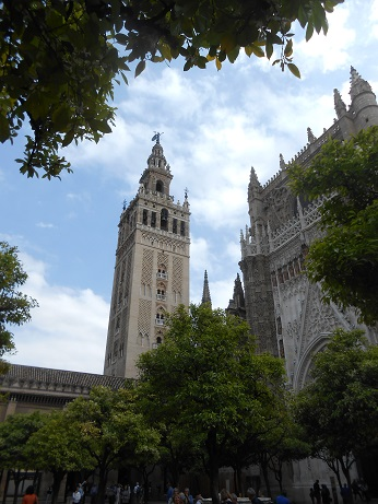 Seville cathedral Giralda 1