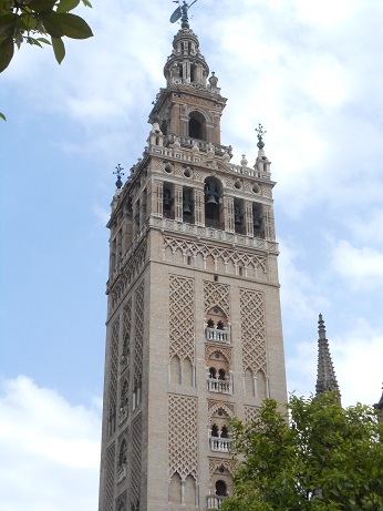 Seville cathedral Giralda 2