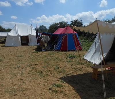 Tewks - Queen's camp 1