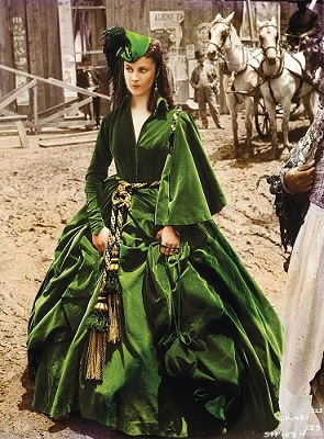 Scarlett O'Hara dress 1