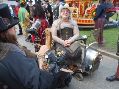 Steampunk event Costume 25