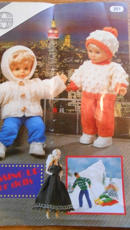 barbie knitting pattern book 1