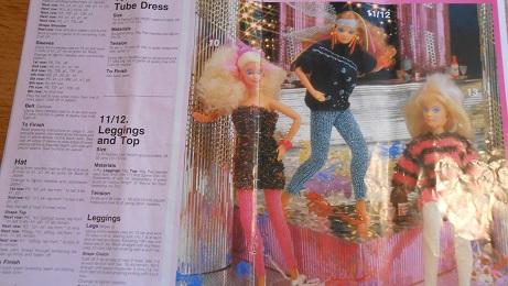 barbie knitting pattern book 3