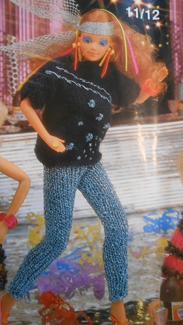 barbie knitting pattern book 4