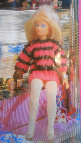 barbie knitting pattern book 5