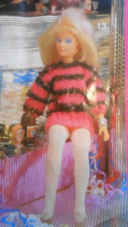 barbie knitting pattern book 5