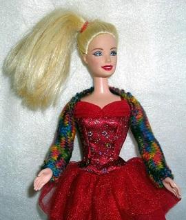barbie shrug