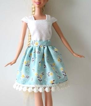 barbie skirt 1