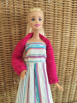 Barbie shrug and dress 2